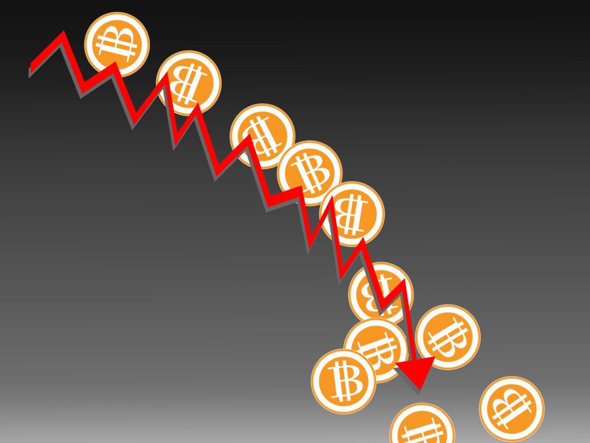 世界恐慌で株価が暴落していくイメージ