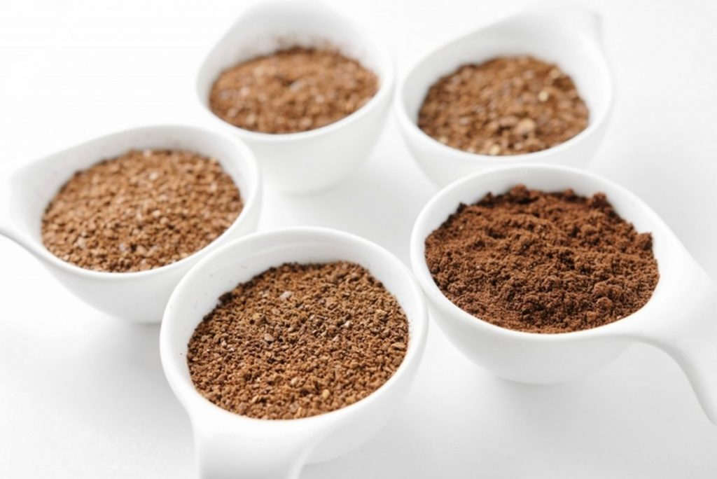 コーヒー豆の挽き方の種類