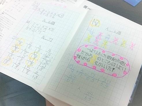 小学生のまとめノート
