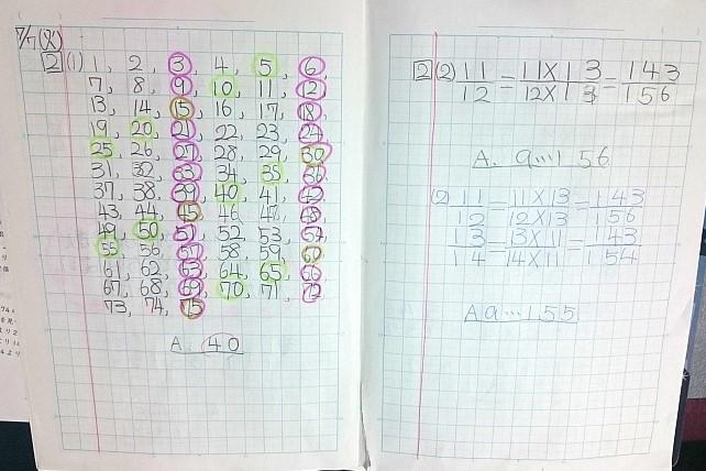 小学生のノートのまとめ方