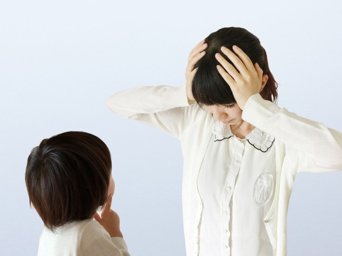 子供のしつけに悩む母親