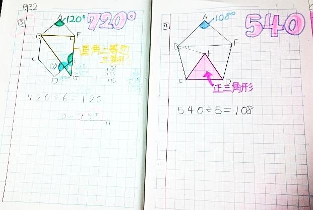 小4のノートの使い方指導