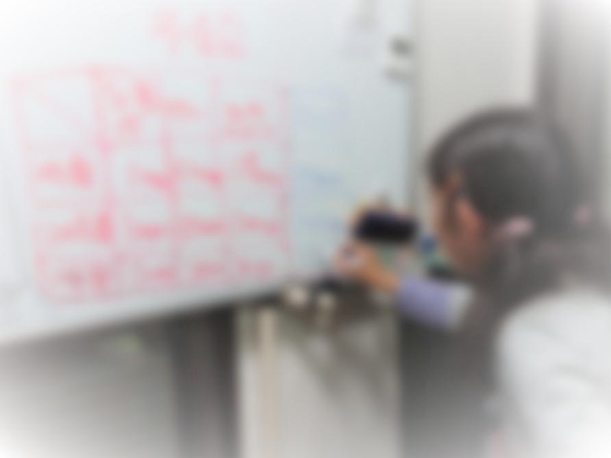 蘇我教室で降水量の実験