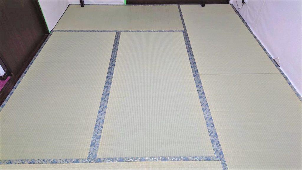 蘇我教室の畳の張替え