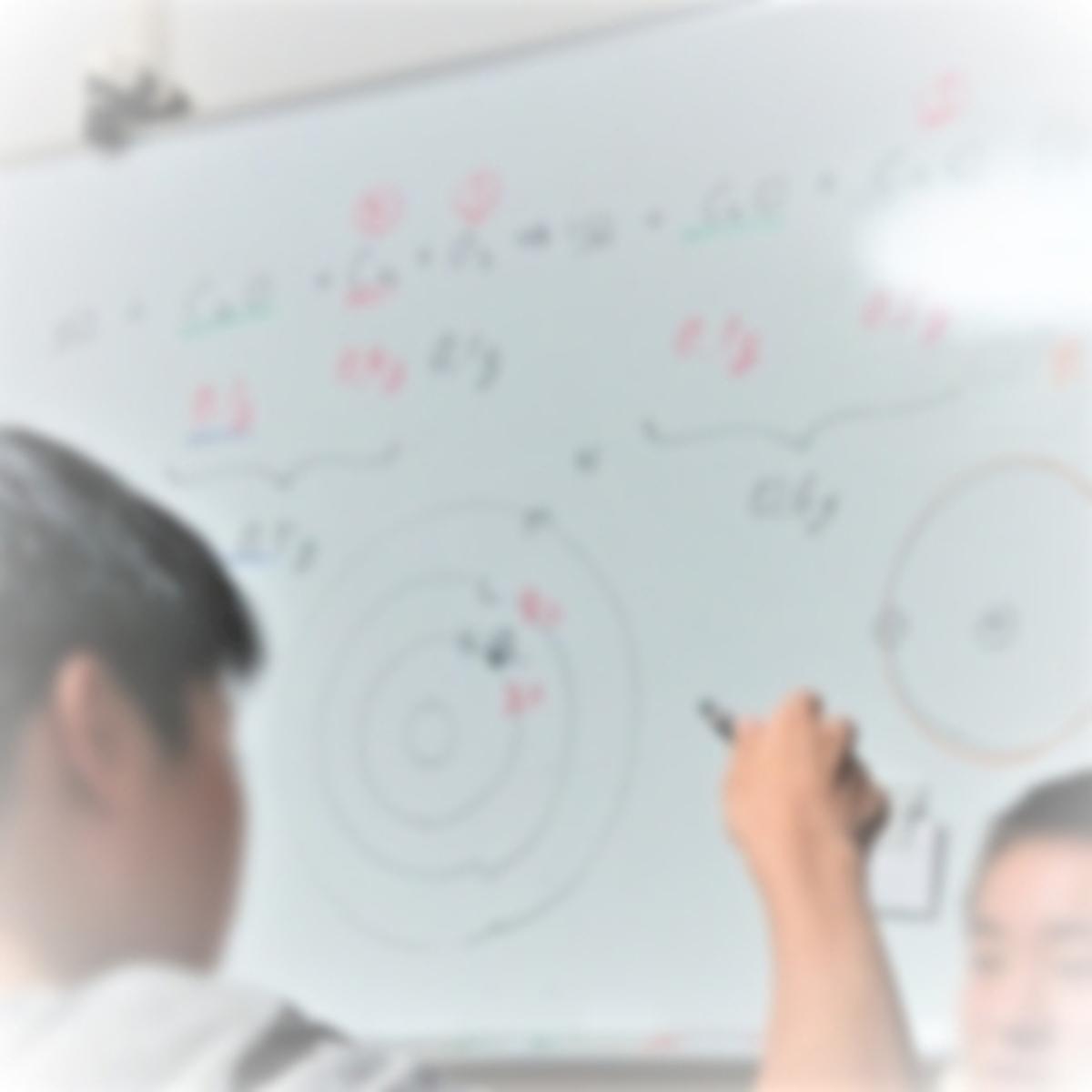 中学生が高校化学を教える授業