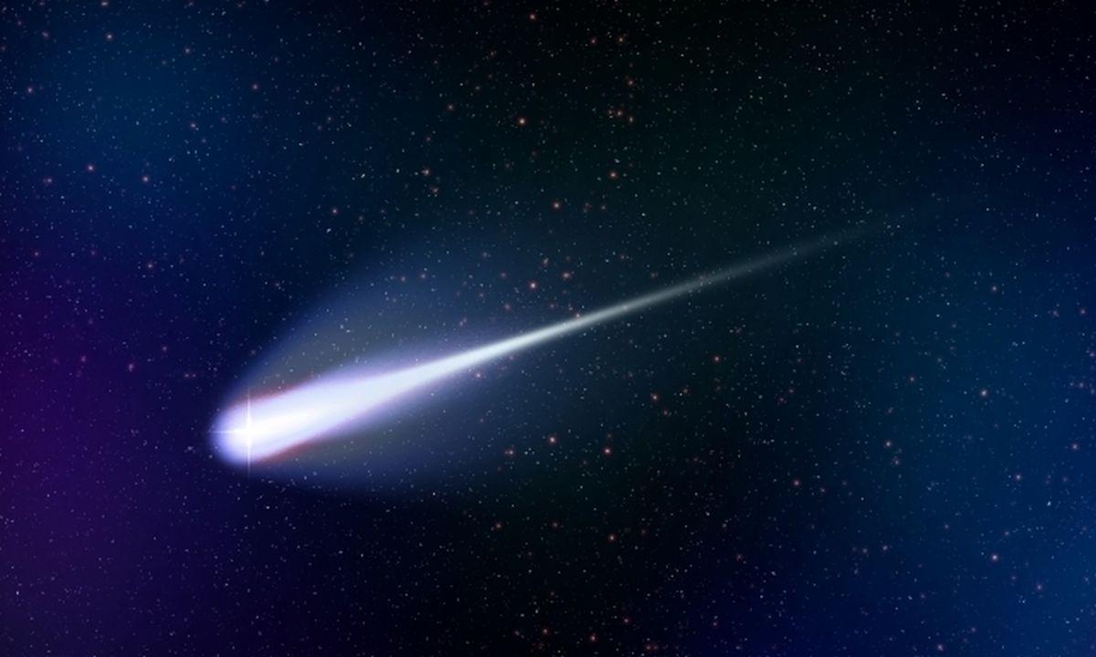 彗星、流星のイメージ