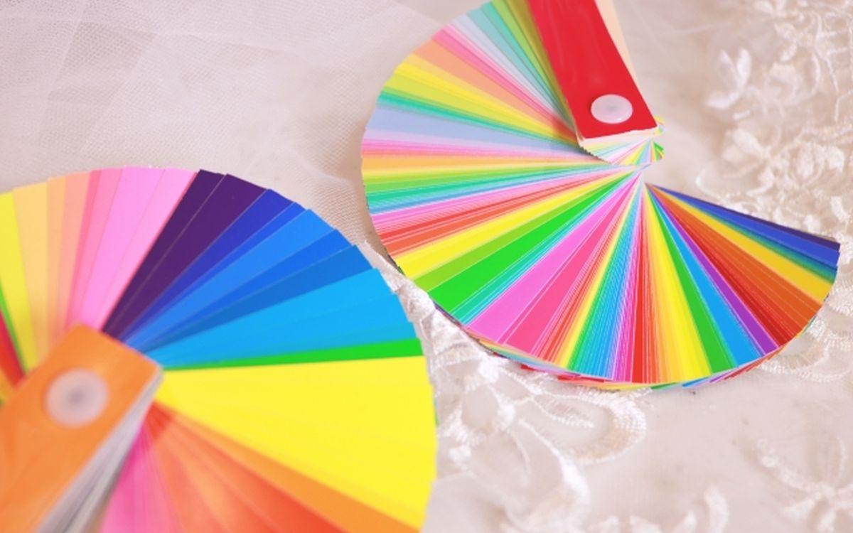 色彩検定用の色見本カラーパレット