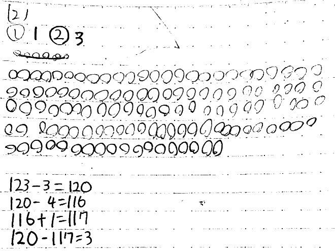 日能研の規則性を解いたノート