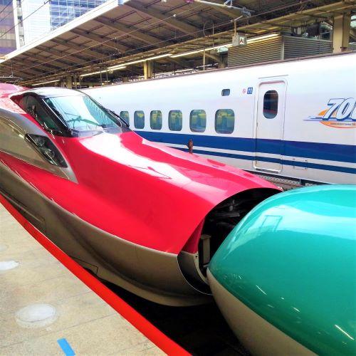 新幹線,はやぶさとスーパーこまちの連結