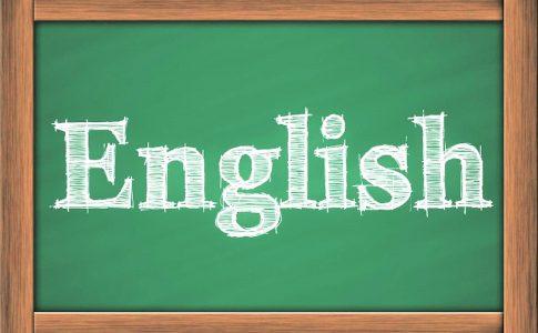 英語の看板