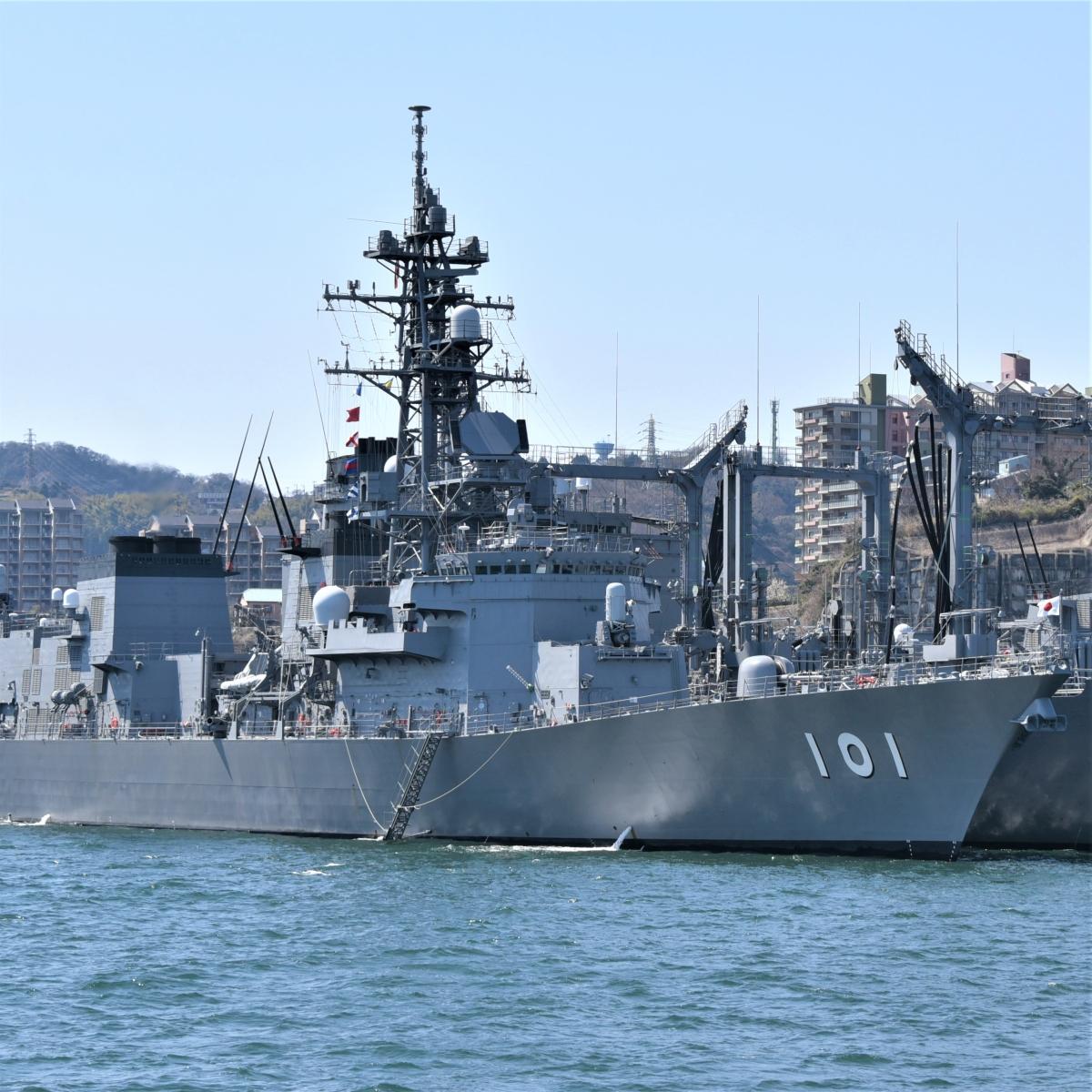 海上自衛隊の護衛艦「むらさめ」