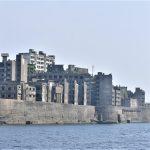 軍艦島,明治時代の産業跡