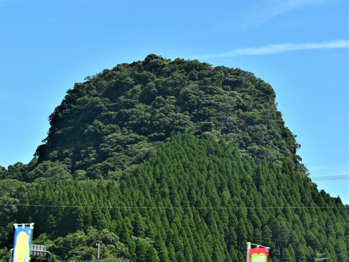 鹿児島の蔵王岳