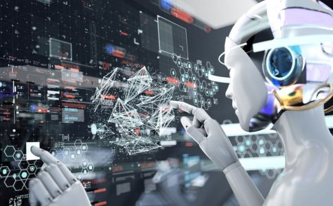 人工知能を搭載したアンドロイド