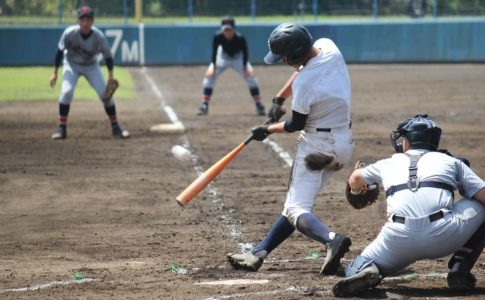 野球部の試合