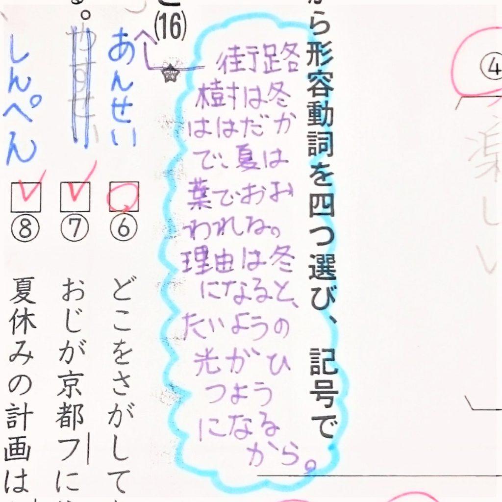 ファイの漢字練習