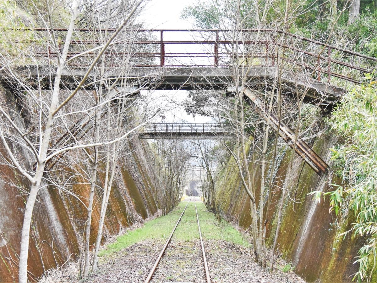 廃線になった高千穂鉄道