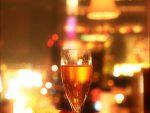 シャンパンとスカイツリー