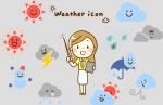 天気予報のイメージイラスト
