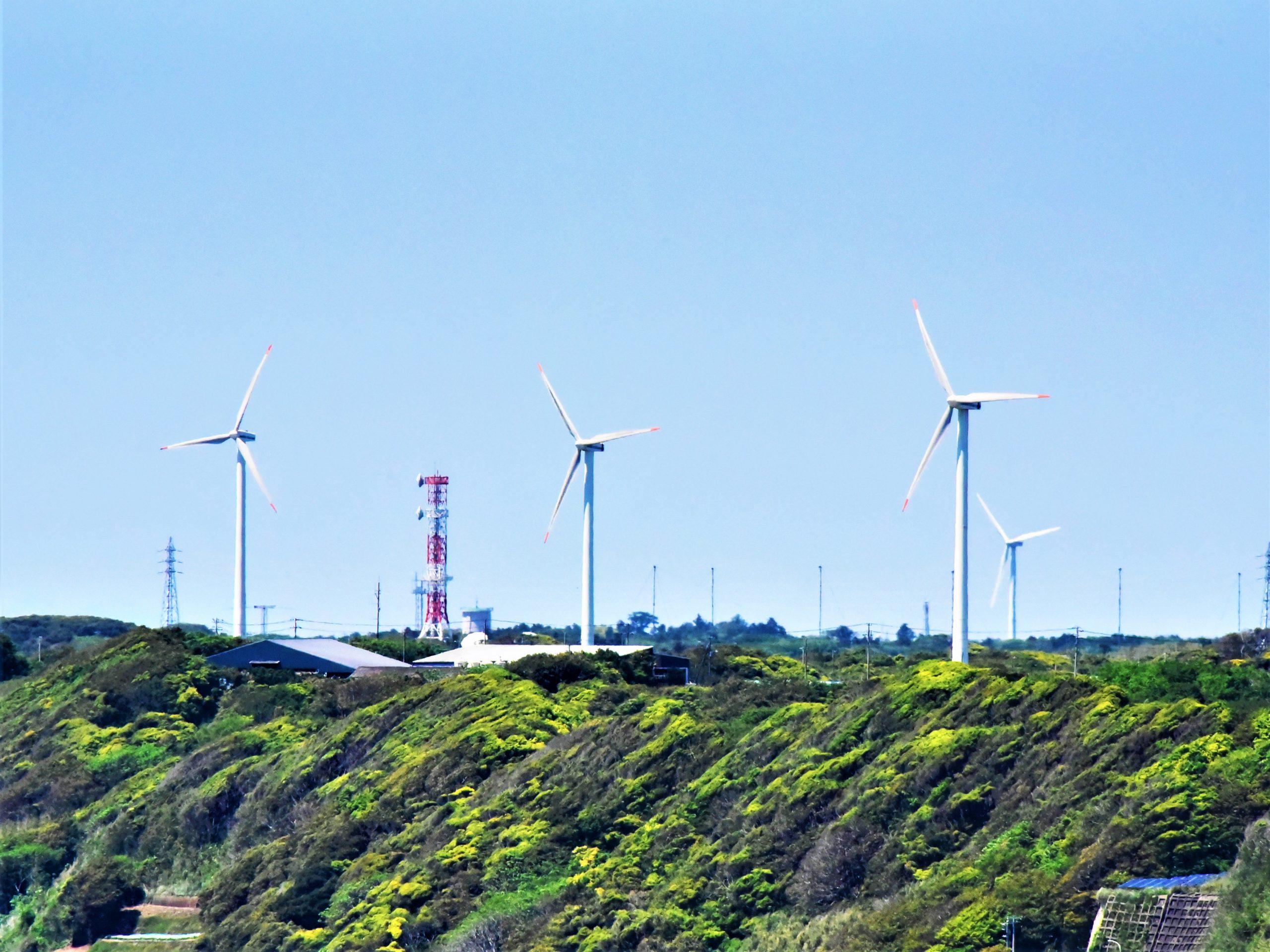 銚子の風力発電